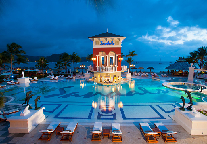 Trip Contribution to Sandals Grande St. Lucian